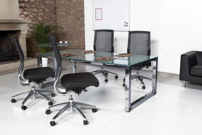 17 best images about muebles de oficina on pinterest for Muebles de cristal