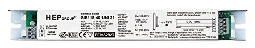 HEP SIS118-40 UNI S Electronic Ballast