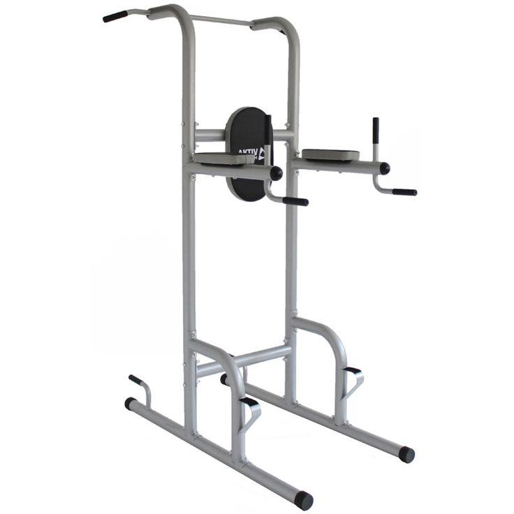 Az Aktivsport Power Tower sokfunkciós erőtorony segítségével Ön is formába hozhatja magát.  Súlyzók használata nélkül, saját testsúllyal való edzésekkel növelheti erőnléti állapotát.