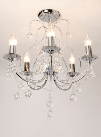 Sapparia 5 Light Flush Chandelier Lighting Home Lighting Sale Offers Leslie 39 S Master