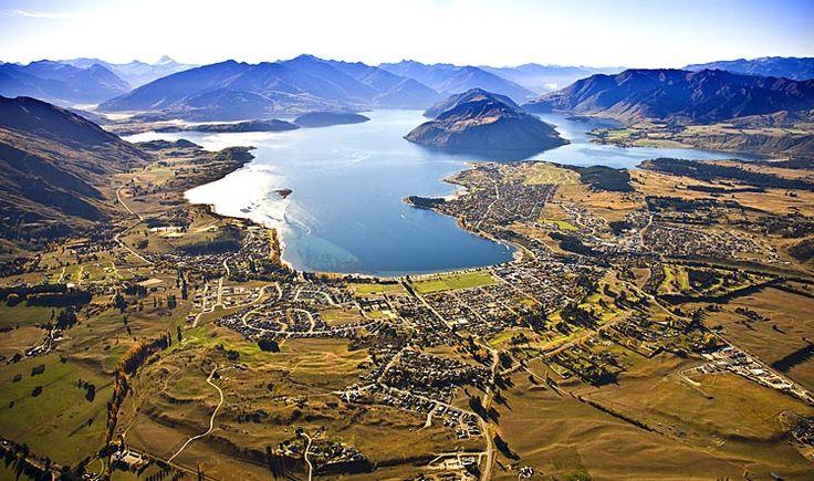 Wanaka, on Lake Wanaka, see more, learn more, at New Zealand Journeys app for iPad www.gopix.co.nz