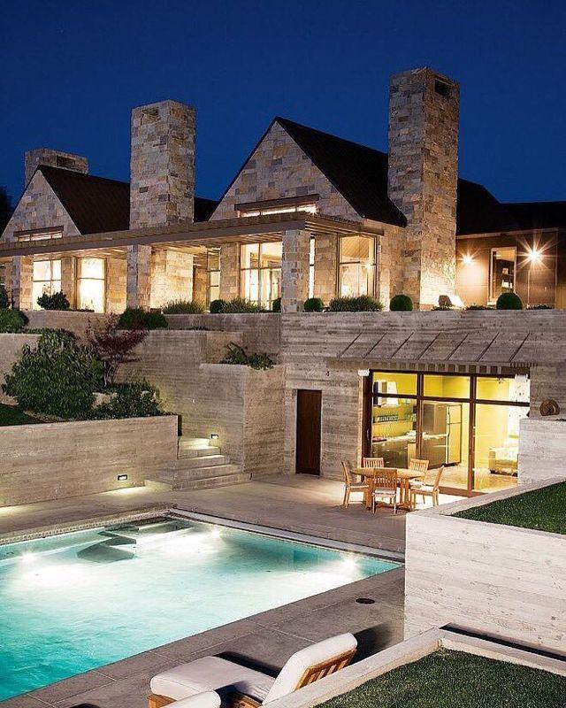 Wunderbar Wohnen, Rustikal, Haus Architektur, Einrichtung, Runde, Rund Ums Haus,  Washington State, Zeitgenössischen Häuser, Rustikal Zeitgenössischen .