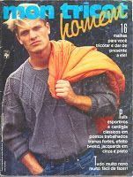 Revista Mon Tricot: Mon Tricot 94 - Junho 1987 (Homem)