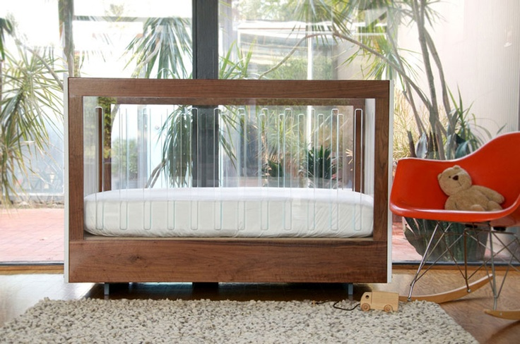 Modern Nursery Furniture Set With Original Crib Roh Collection From Spot On Square