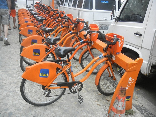 Rent a bike in Rio de janeiro Brazil
