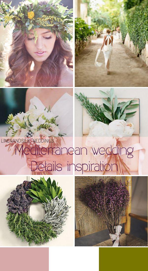Mediterranean wedding inspiration by Linen and Silk Weddings