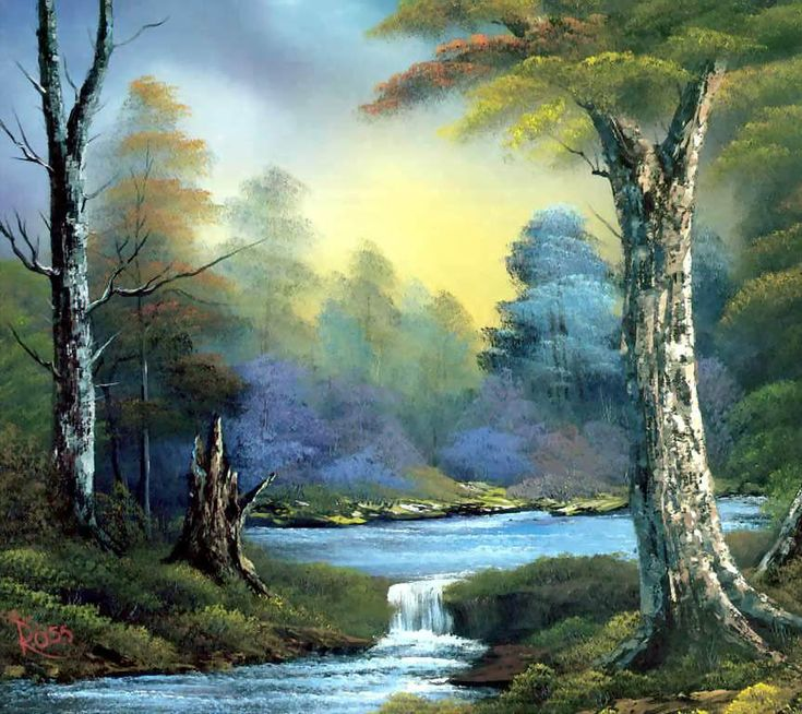 Forest Painting Android Wallpapers 960x854 Hd Wallpaper Download ...