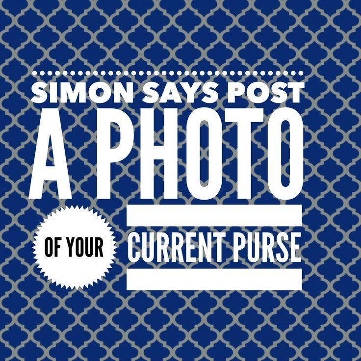 Simon Says: current purse.  #ThirtyOne #ThirtyOneGifts #31Party…