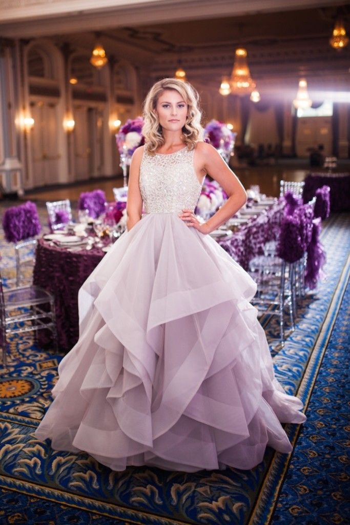 Purple Wedding Inspiration - Enchanting Orchid by Sofia Katherine Photography via Calgary Bride
