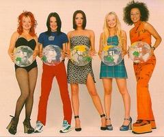 Spice Girls nineties fashion