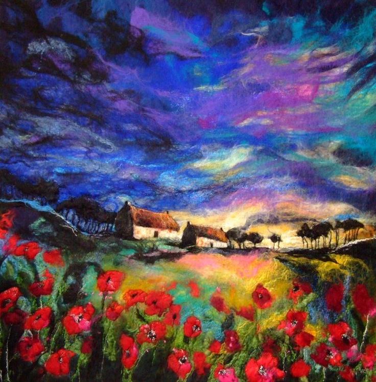 My favorite felt artist - Moy Mackay from Scotland.