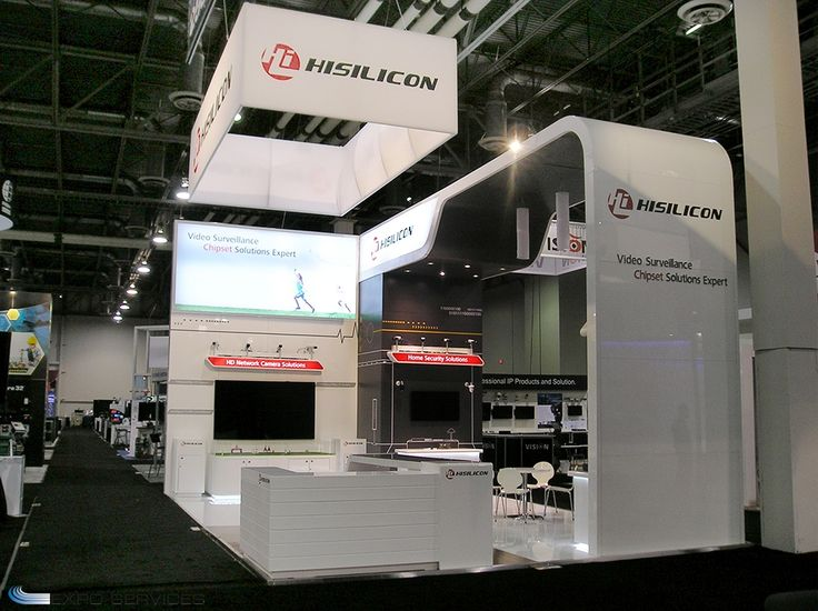 30x30 Booth By Expo Services In Las Vegas