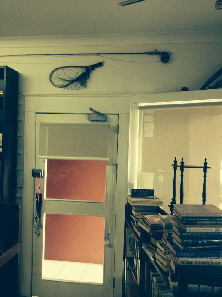 More bookshop decor.