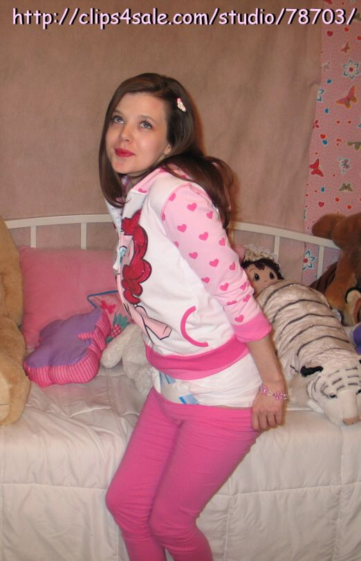 Abdl diapered clothing dress up prudence kevorkian - 3 9