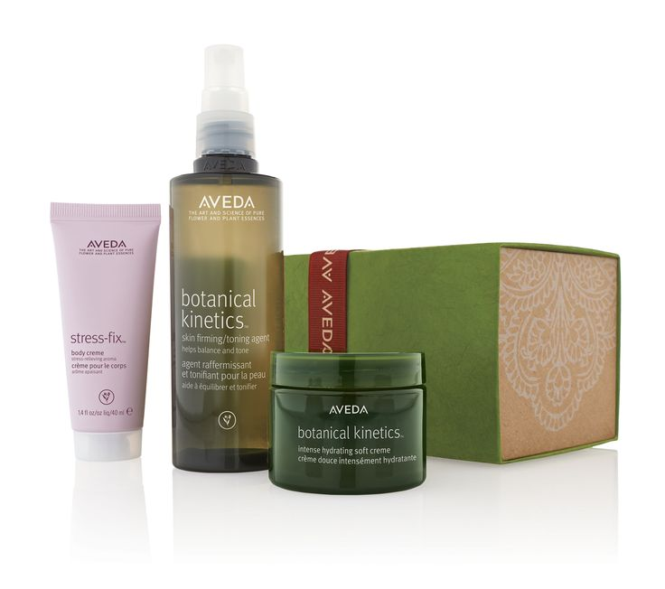 Did you know you can create your own gift sets at Aveda stores? Shop by aroma, or choose the products you know they'll love.