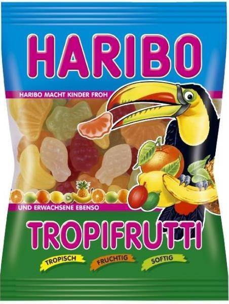 Haribo Tropifrutti....malheureusement on en trouve pas au Québec de ceux-ci!!
