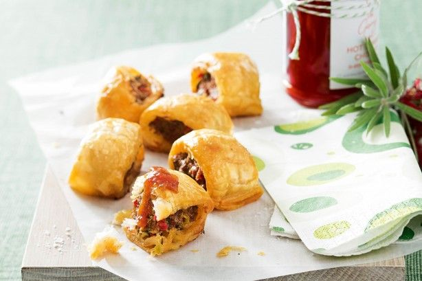 Chorizo adds a fabulous spicy flavour to classic Australian sausage rolls.