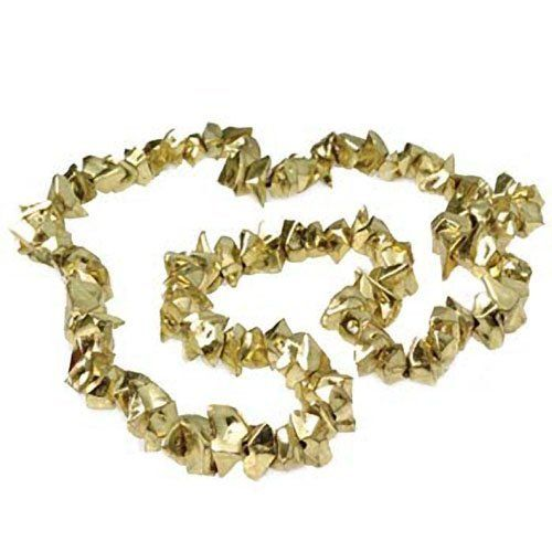 Gold Nugget Necklace by US Toy Company. $9.99. This pretend gold nugget necklace looks authentic.  Made of plastic.  Size 30 L.""