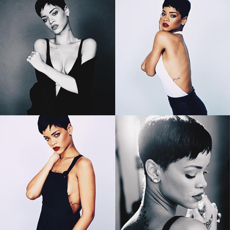 Short Hair is my fab!!! #Rihanna
