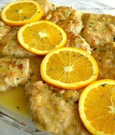 This variation on traditional Chicken Francese uses oranges to lift the flavour with a hit of citrus.