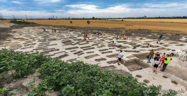 V Podunajských Biskupiciach objavili jedno z najrozsiahlejších archeologických nálezísk na Slovensku
