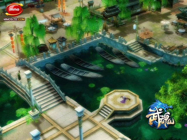 NetEase's New Kung Fu MMORPG Wu Hun Online Features  Wu Hun Online is a new game which will be released by NetEase later in 2012. With the Tang Dynasty of China as its background, it is an action game of martial-art emphasizing the effect of striking. Its feature is the combination of traditional Kungfu and magic elements, thus players can not only use Shaolin Kungfu but also ice, flame and summoned wild animals to strike