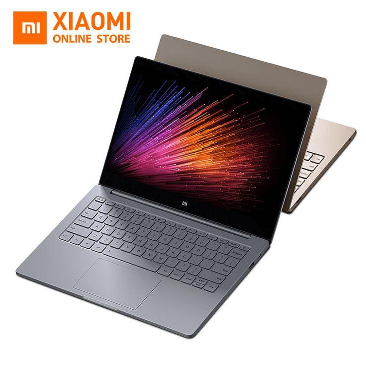 Xiaomi mi laptop notebook air engels windows 10 intel core m3-6y30 CPU 4 GB DDR3 RAM Intel GPU 12.5 inch display SATA SSD