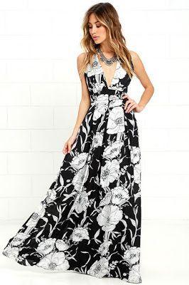 Vestidos largos casuales de moda
