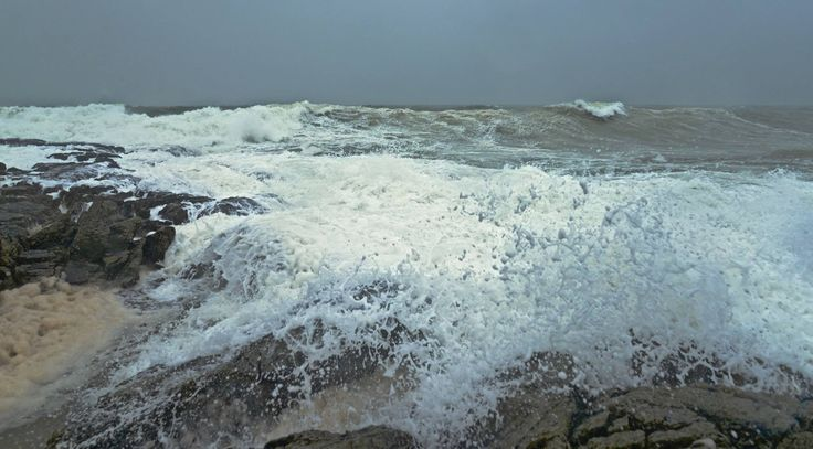 A beautiful stormy day on Anglesey