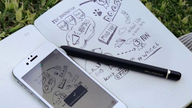Deze klant wilde voor alle Sales medewerkers een oplossing om al hun notities gelijk digitaal te maken en zo ook gelijk te kunnen delen. Oplossing werd de #Moleskine Smart Writingset https://youtu.be/a8TihGrzgJQ