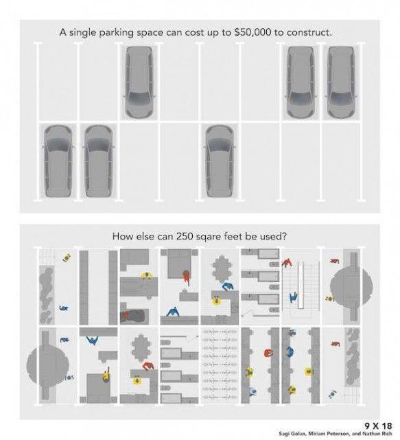 Убивать Ле Корбюзье любимого места для парковки - LifeEdited
