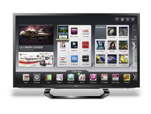 LG 42LM620T 42-inch Widescreen Full HD 1080p LED Cinema 3D Smart TV with Freeview HD and 4 Pairs of 3D Glasses by LG Electronics, http://www.amazon.co.uk/dp/B007IYW3HO/ref=cm_sw_r_pi_dp_VmcHrb095C691