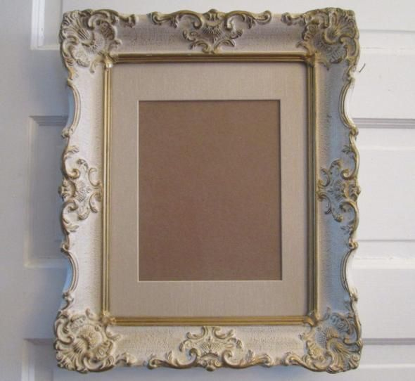 Large Gesso Frame Vintage 11x14 Picture Frame Wood Frame Wedding Frame Late Boomer Vintage In 2020 Ornate Picture Frames 11x14 Picture Frame Wedding Picture Frames