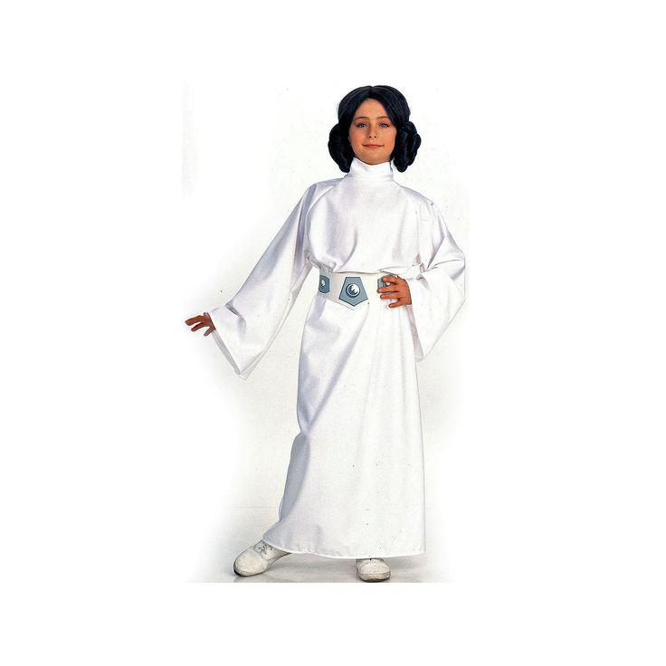 Star Wars Princes Leia Costume - Kids, Girl's, Size: Medium, White