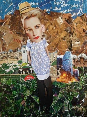 Creahoekje OV 2: Collage van gekke mensen (groep 9)