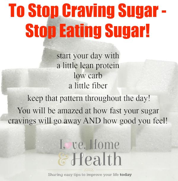 How do you stop eating sugar?