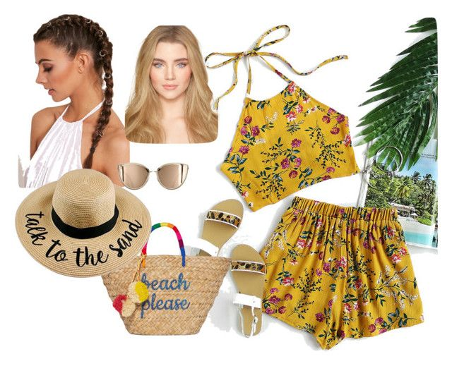Summer by una-s on Polyvore featuring moda, Kayu, beachday and summerstyle
