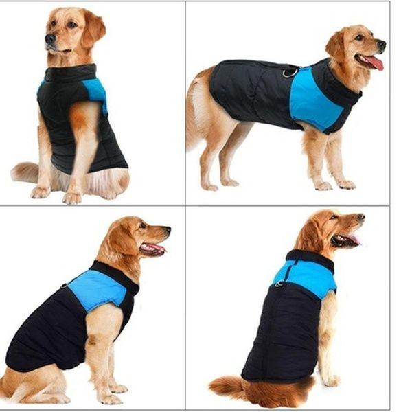 Waterproof Dog Warm Vest Jacket Coat Pet Winter Clothes Puppy Medium Large Dog In 2020 Dog Coats Large Dog Clothes Dog Winter Clothes