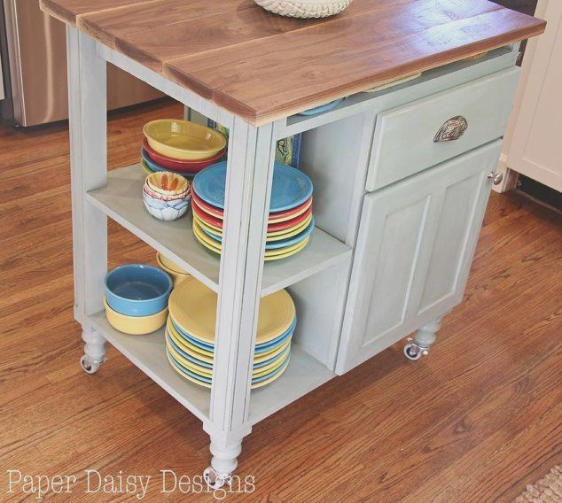 Kitchen Island Cart Plans With Images