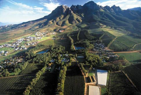 Somerset West in South Africa. I recently visited a friend here and am dying to go back.