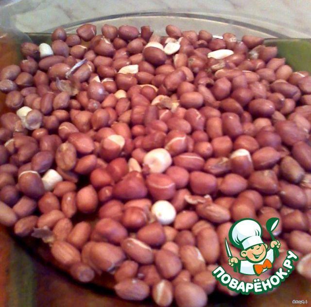 Супер-арахис в микроволновке ингредиенты