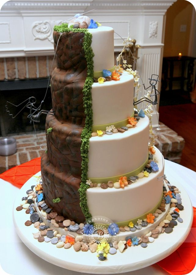 rock climbing wedding cake toppers 17 meilleures id 233 es 224 propos de g 226 teau 192 th 232 me d escalade 19248