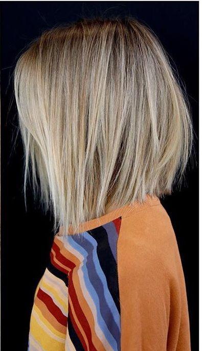 Ich mag diesen Schnitt und diese Farbe. Blond, hetero, Bob. #blond #diese #dies…, #Blond … – Kurzes Haar