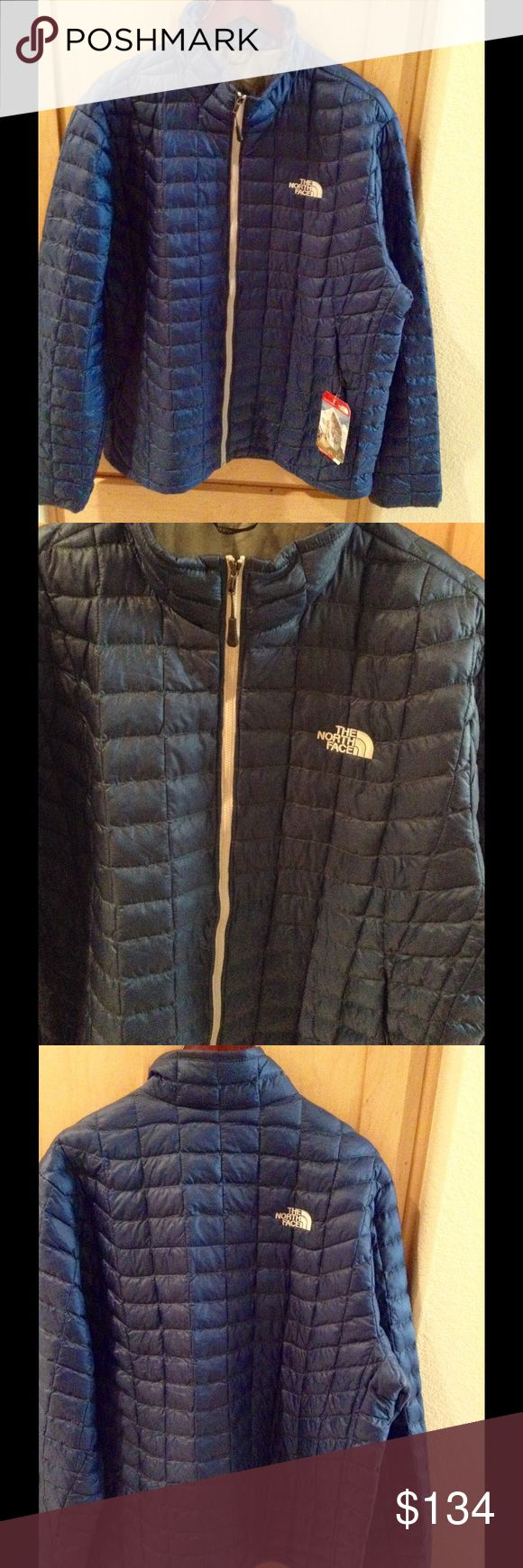 NEW The North Face Men's Thermoball Jacket-XXL Brand new Men's Thermoball Jacket in XXL in Navy color.  No trade.  Price is firm. The North Face Jackets & Coats