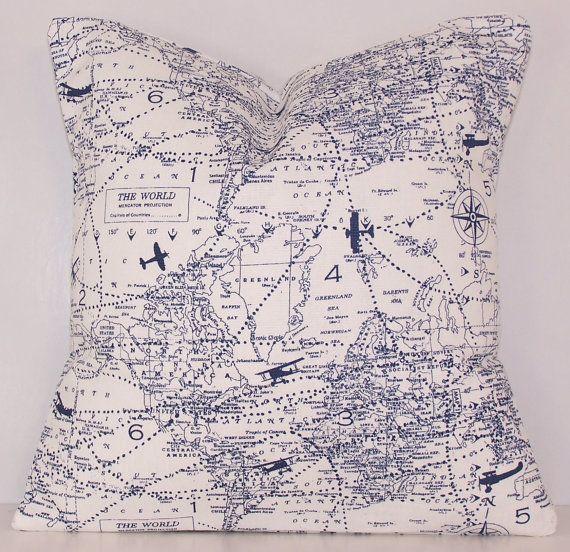 Dark Blue Pillow Cover, Toss Pillow, Navy Pillow Cover, Euro Pillow, Sham, Lumbar,Couch Pillow,Throw Pillow,Bedding,Various Sizes,Navy