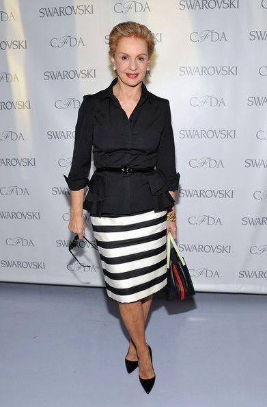 Carolina Herrera Pencil Skirt - Carolina Herrera Clothes Looks - StyleBistro