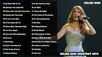 The Best Of Celine Dion Celine Dion s Greatest Hits - YouTube