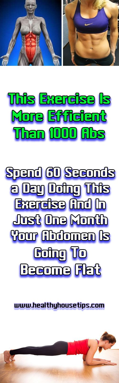 This Exercise Is More Efficient Than 1000 Abs Spend 60 Seconds a Day Doing This Exercise And In Just One Month Your Abdomen Is Going To Become Flat