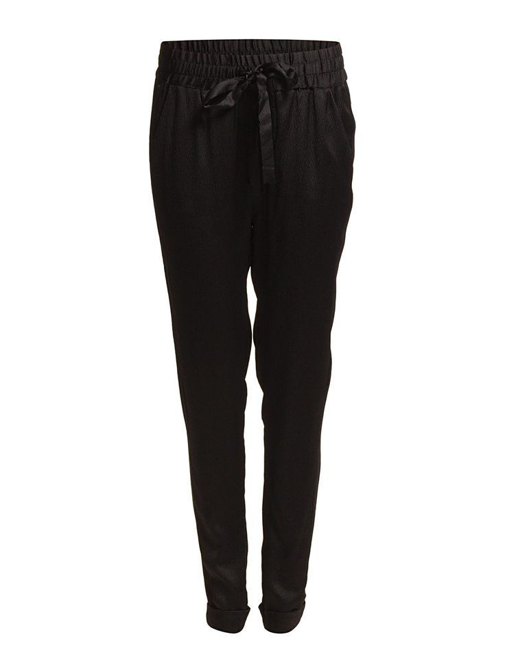 Rosemunde - Trousers classic fit w/tie band