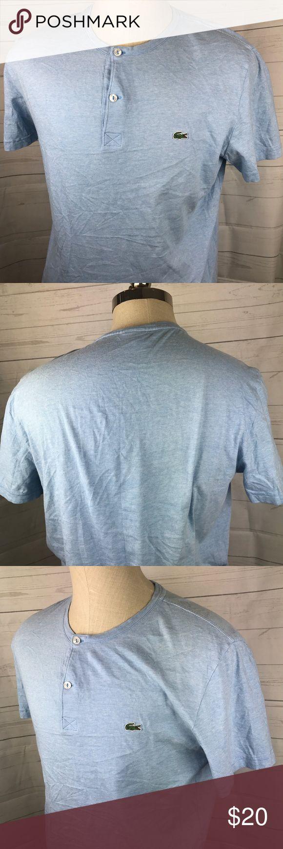 Best 25 lacoste t shirt ideas on pinterest nike retro tennis lacoste t shirt large 2 button henley blue large buycottarizona